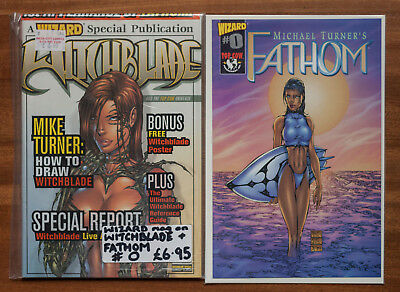Wizard Magazine Special - Witchblade inc. Fathom #0, NM, Michael Turner, Top Cow