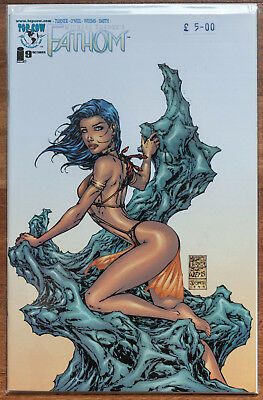 Fathom #9, Midwest Cover, NM, Top Cow, Michael Turner