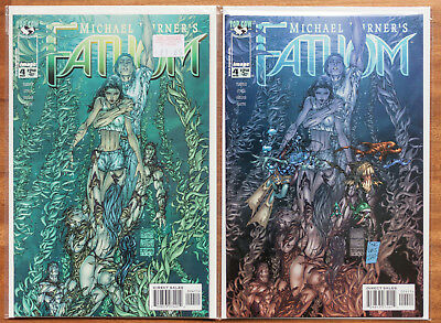 Fathom #4, 2 Covers - Marc Silvestri, NM, Top Cow, Michael Turner
