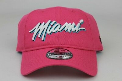 the latest 59223 ab4f0 ... low price miami heat 2018 nba city series earned edition new era  9twenty strapback dad hat