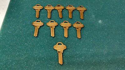 Schlage 35-009-ev-468 Key Blanks C145 , Sets Of 10