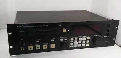 1 Used Denon Dn-M1050R Mini Disc Professional Recorder/player ***make Offer***