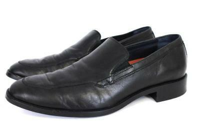 43d0fd25f7f mens black nappa COLE HAAN lenox hill venetian loafers leather modern 8.5 M