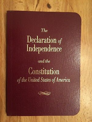 Pocket Size  Declaration of Independence & Constitution Cato Institute 2002