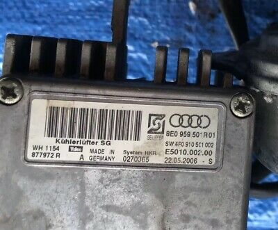 AUDI A6 C6 3 2 - Electric Cooling Fan Relay Module - $179 99