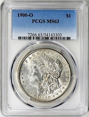 1900-O  Morgan Silver Dollar - Pcgs Ms63 - Keeper, Great Luster, Superb Coin