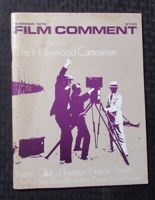 1972 Summer FILM COMMENT Magazine #8 FN 6.0 The Hollywood Cameraman