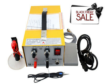 Pulse Sparkle Spot Welder Jewelry Welding Machine Necklace Gold Silver New