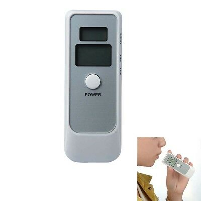 Police Digital Breath Alcohol Analyzer Tester LCD Breathalyzer Test Detector AU