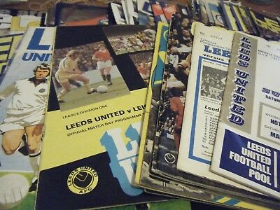 Leeds United    Fc    Home Programmes   1967 - 2010    Buy It Now  £ 2.59 Each