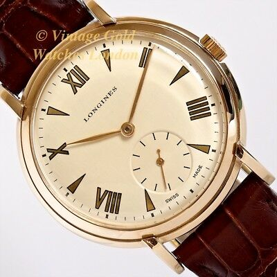 Longines 9Ct Manual, 1951, 36Mm - Exceptional, Immaculate Condition!