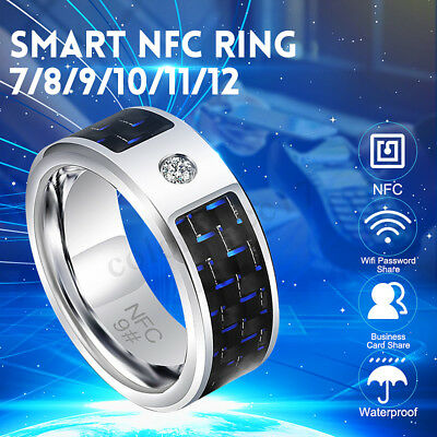 2019 Magic Finger NFC Smart Ring Wearable For Android Windows Mobile Phone UK
