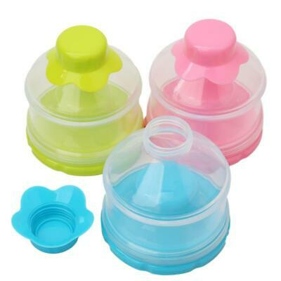 3 Layers Baby Milk Powder Formula Dispenser Feeding Case Container Tools SH