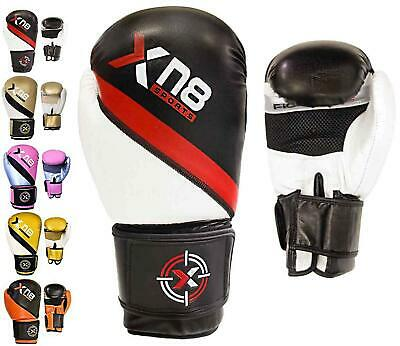 Xn8  Boxing Gloves Training Muay Thai Punch Bag MMA Sparring Fighting Kickboxing