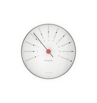 Arne Jacobsen Bankers Thermometer, 12cm