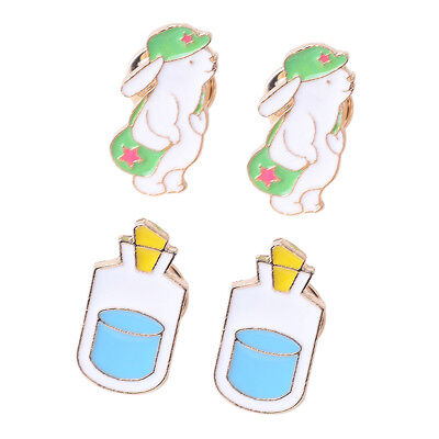 Enamel Piercing Brooch Pins Shirt Collar Backpack Pin Breastpin Jewelry Gift