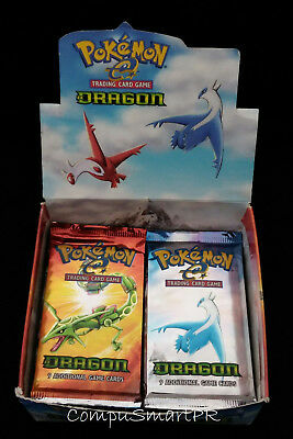 Pokemon EX Dragon Booster Pack Factory Sealed (One Pack)