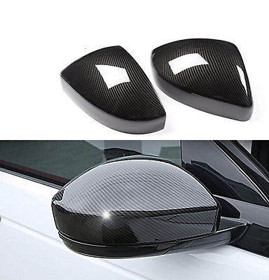 Carbon fiber Side Rearview Mirror Cover Land Rove Discovery Sport velar range