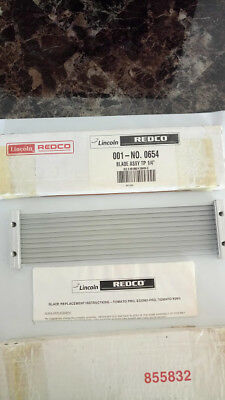 """Lincoln Redco 654 001-No. 0654 TOMATO SLICER 1/4"""" Blade Assembly"""