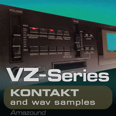 CASIO VZ-1 SAMPLES for KONTAKT 215NKI 2320 WAV 24bIt MAC PC MPC LOGIC PRO TOOLS