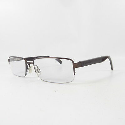841ed29c7f Boss Orange BO 0135 Semi-Rimless Y3653 Used Eyeglasses Glasses Frames