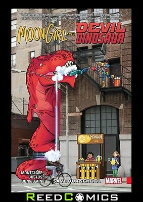 Moon Girl And Devil Dinosaur Volume 6 Save Our School Graphic Novel (#32-36)