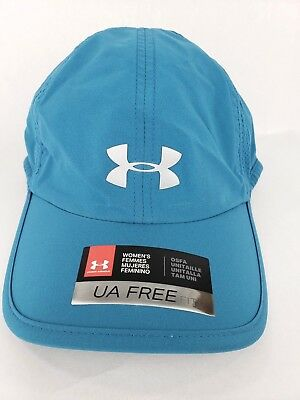 ... Under Armour Womens Blue Free Fit Running Hat Cap Adjustable Mesh Sides  NWT in stock 4a3d5  NEW ... 2eb7b441cd20