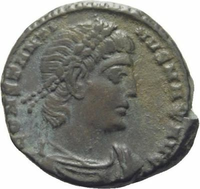 Ancient Rome 306-337 AD CONSTANTINE FOLLIS SOLDIERS/Standards- Constantinople