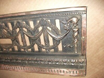 LOTS of Copper~~ Cast/Bronze/Brass Fireplace Architectural Salvage 8 x 20~~