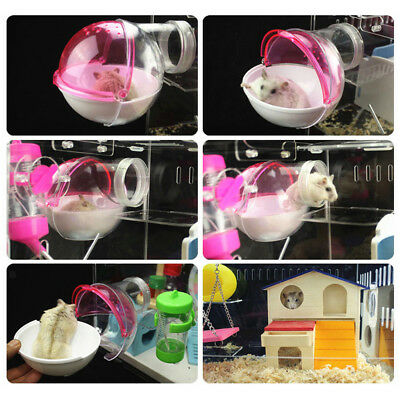 Small Animals Bathroom House for Mouse Chinchilla Rat Gerbil Dwarf Hamster