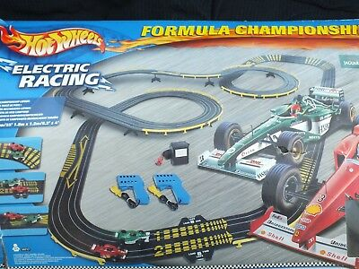 Hot Wheels Electric Racing Ho 1 64 Slot Car Race Track Only Tyco