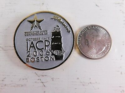 BOSTON POLICE CHALLENGE coin By V H  Blackinton Badge Company