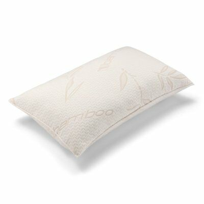 Bamboo Anti-Allergy Cot Bed Pillow - Nursery, Junior, Kids, Baby, Toddler