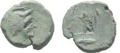 Ancient Greece 3cent BC CARIA HALIKARNASSOS Poseidon/Trident