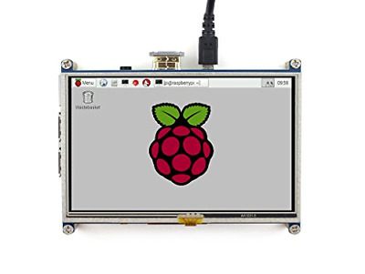Waveshare Raspberry Pi LCD Display Module 5inch 800480 TFT Resistive Touch Panel