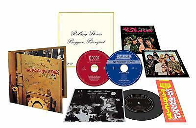 "Rolling Stones Beggars Banquet RSD Black Friday 2 SACD / 7"" flexi foldoout pack"