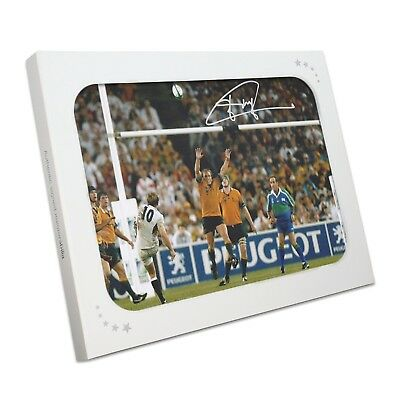 Jonny Wilkinson Signed 2003 Rugby World Cup Photo: The Drop-Kick Gift Box