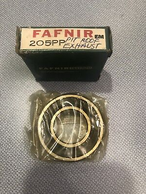 New Fafnir 205Pp Rubber Sealed Bearing  Em205 Pp Free Fast Shipping Lowest Price