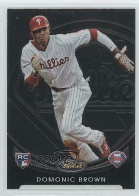 2010 Topps Finest Rookie Redemption #FFR-9 Domonic Brown Philadelphia Phillies