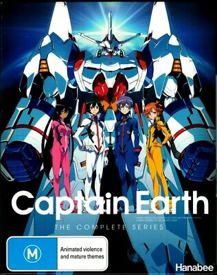 """CAPTAIN EARTH: The Complete Series"" Blu-ray, 4 Disc Set - Region [B] BRAND NEW"
