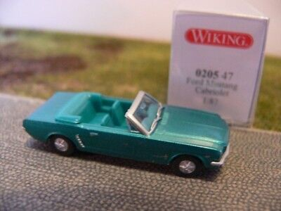 türkis 0205 47-1:87 Wiking Ford Mustang Cabrio