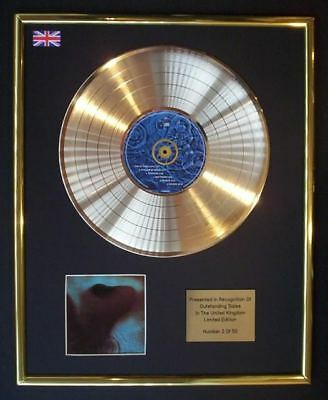 Pink Floyd Meddle Cd Gold Disc Record Display Free P&p!