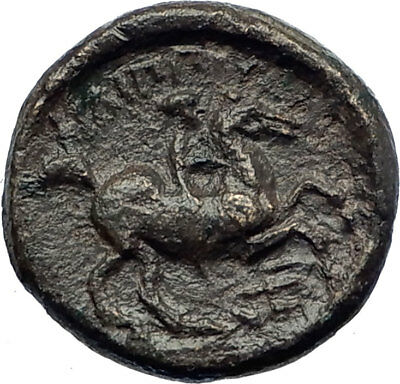 PHILIP II Alexander the Great Dad OLYMPIC GAMES Ancient Greek Coin Horse i74198