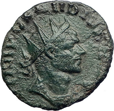 CLAUDIUS II Gothicus 268AD Genuine Ancient Roman Coin Libertas Liberty i74205