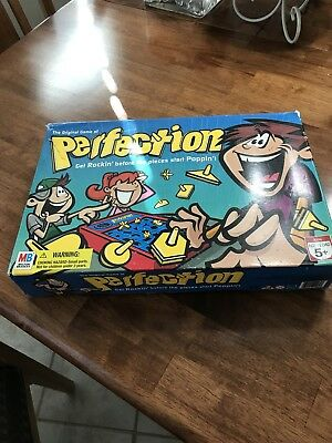 Hasbro Perfection Board Game VINTAGE Complete Works Perfect Excellent Condition!