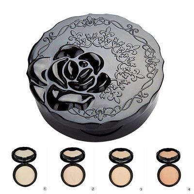 Beauty Cosmetic Makeup Face Pressed Powder Longlasting Foundation Oil Control