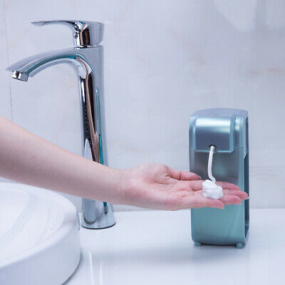 Hands Free Automatic Sensor Touchless Shampoo Soap Liquid Dispenser Green