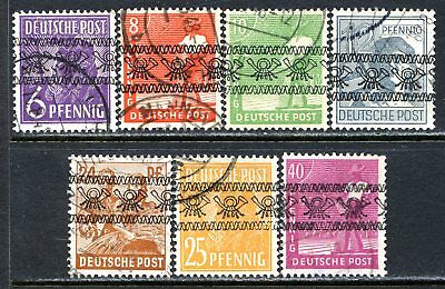 Germany Postage Stamps Scott 601-604, 608-609, 611, Used Partial Set!! G1145f