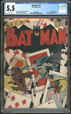 Batman #11 The Best Joker Cover! White Pages!! A Classic Investment Piece