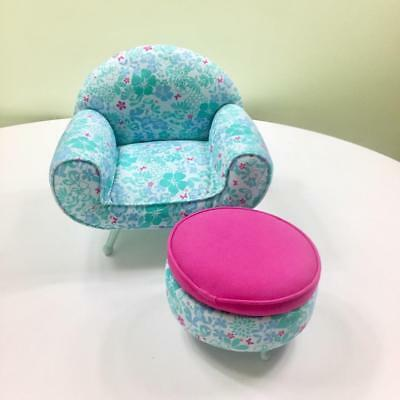 Magnificent American Girl Kanani Chair Ottoman And Ukelele Set Unemploymentrelief Wooden Chair Designs For Living Room Unemploymentrelieforg